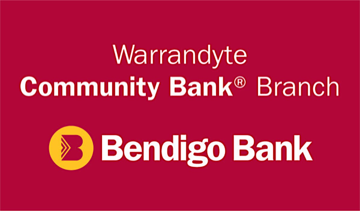 Bendigo Bank Warrandyte Community Branch Logo